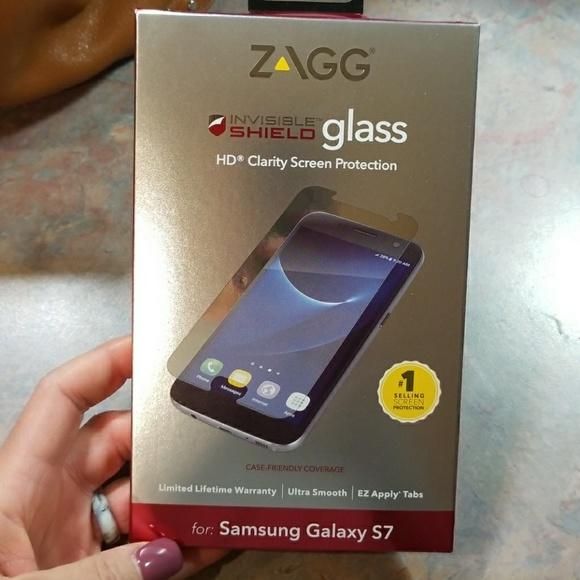 sale retailer db158 f56da Unopened Glass Invisible Shield for Galaxy S7 NWT